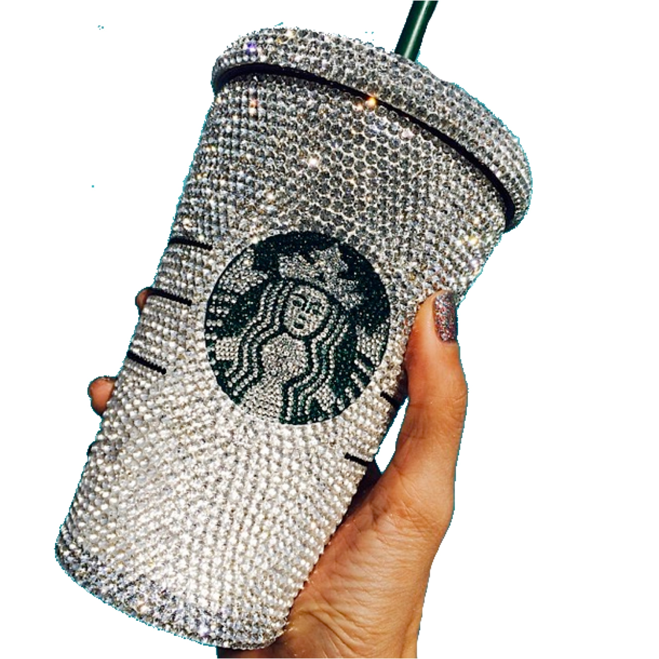 starbucks bling tumbler
